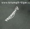 Mikina - TRIUMPH MOTORCYCLES RIDING HOODY